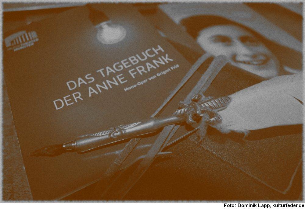 """Das Tagebuch der Anne Frank"" (Foto: Dominik Lapp)"