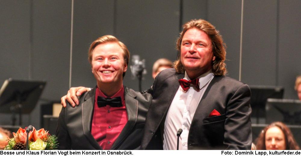 Klaus Florian Vogt (re.) mit Sohn Bosse (Foto: Dominik Lapp)