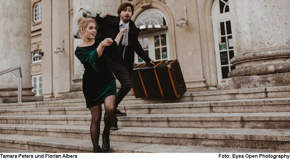 Tamara Peters und Florian Albers (Foto: Eyes Open Photography)