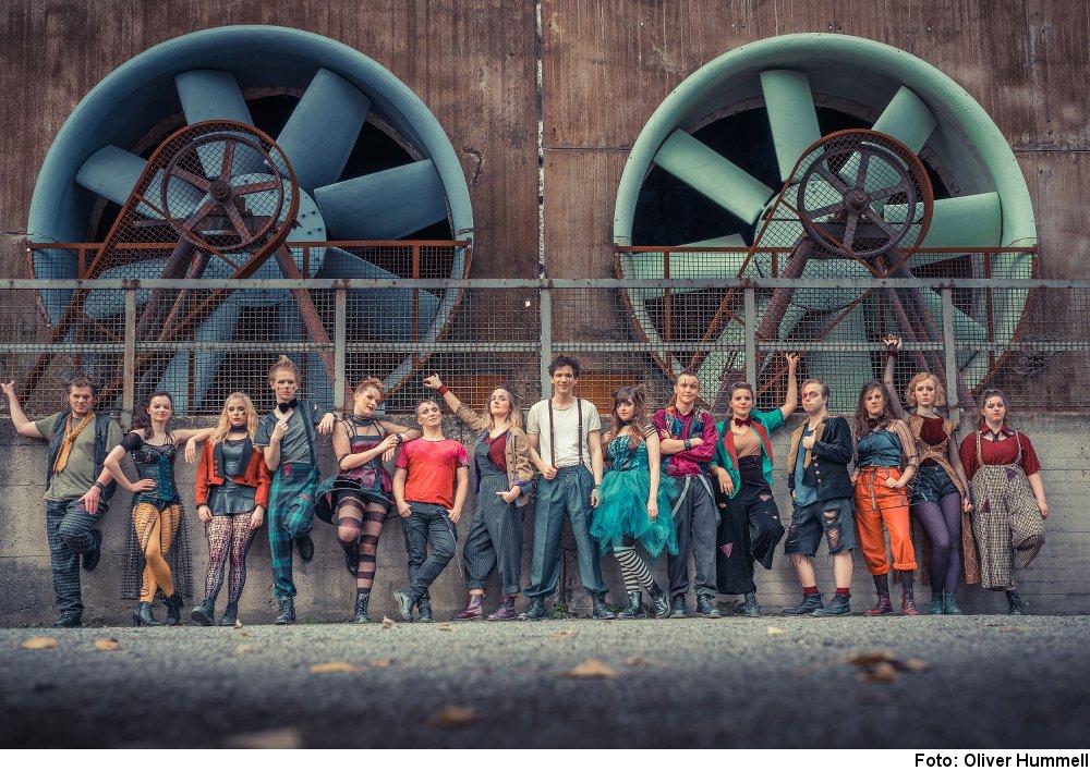 """""""Godspell"""", Foto: Oliver Hummell, www.oliverhummell.com"""