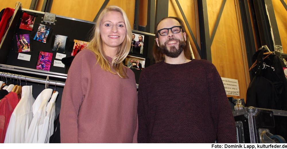 Nadja Görts und Sebastian Ciminski-Knille (Foto: Dominik Lapp)
