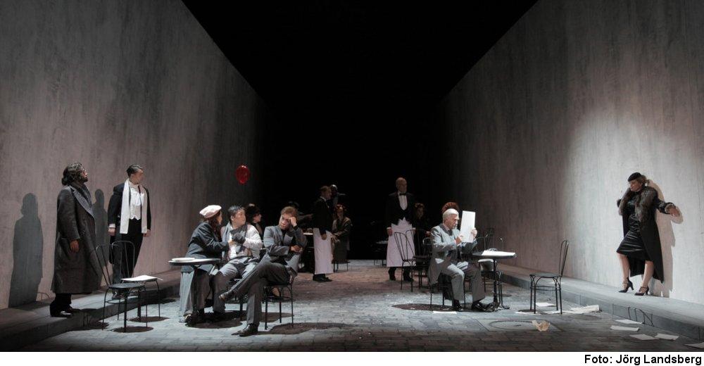 "Puccini ""La Bohème"" (Foto: Jörg Landsberg)"