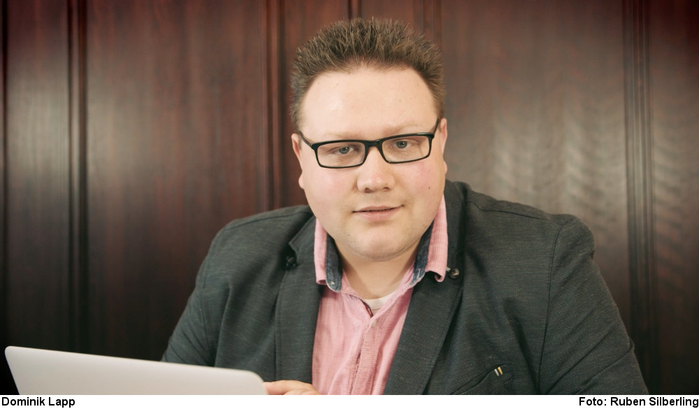 Dominik Lapp (Foto: Ruben Silberling)