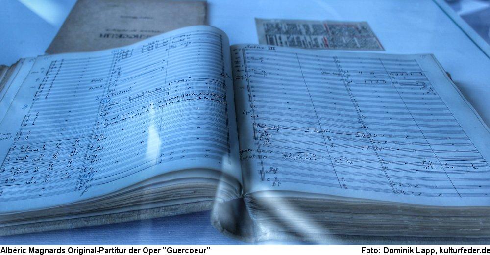 Partitur von Albéric Magnard (Foto: Dominik Lapp)