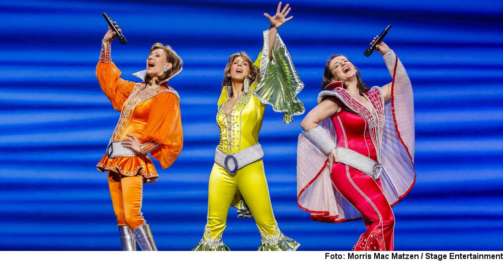 """Mamma Mia!"" (Foto: Morris Mac Matzen / Stage Entertainment)"