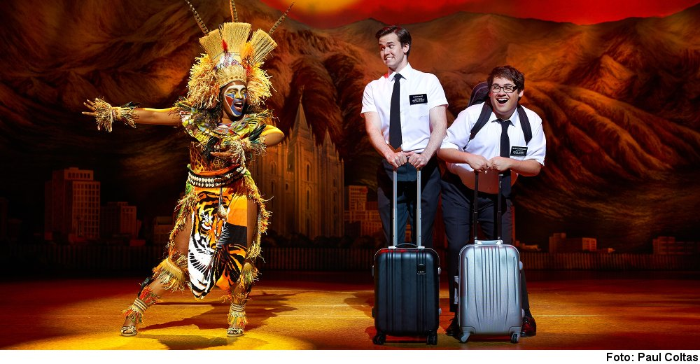 """The Book of Mormon"" (Foto: Paul Coltas)"