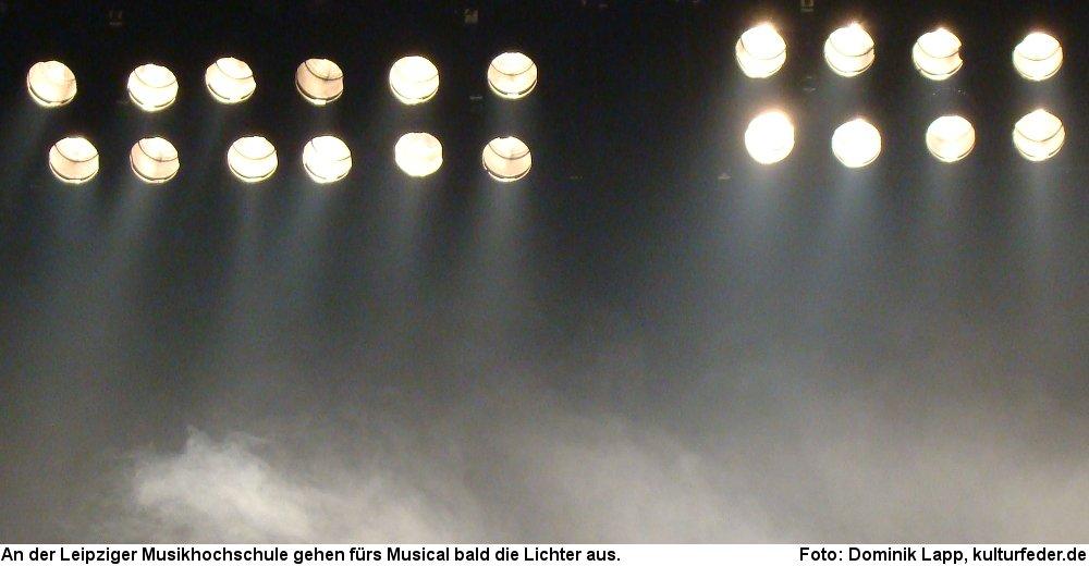 Die HMT Leipzig bildet künftig keine Musicaldarsteller mehr aus. (Foto: Dominik Lapp)