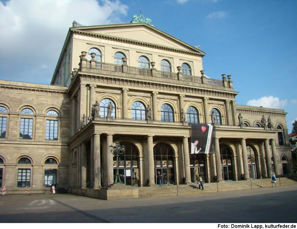 Opernhaus Hannover, Foto: Dominik Lapp, kulturfeder.de