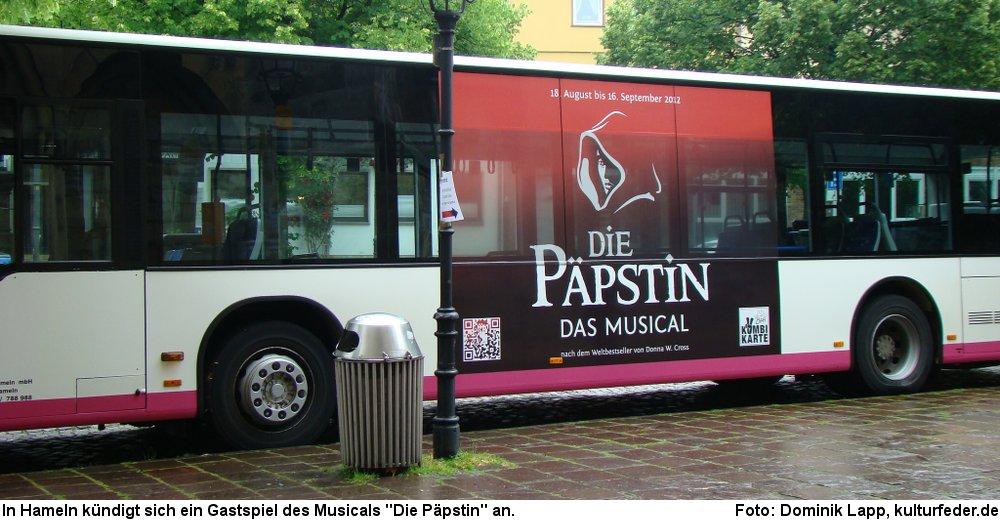 """Hameln wird Schauplatz für """"Die Päpstin"""". (Foto: Dominik Lapp)"""