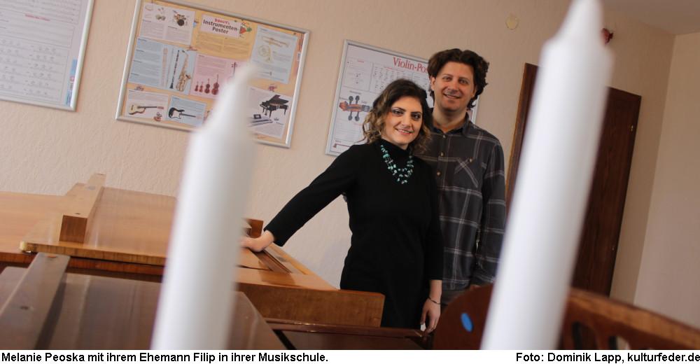 Melanie Peoska und Filip Peoski (Foto: Dominik Lapp)