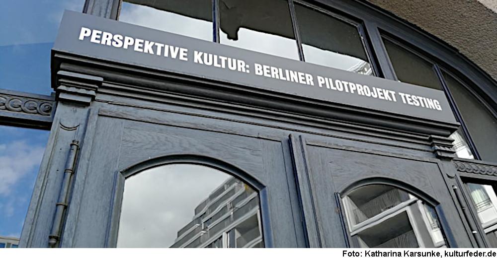 Pilotprojekt Testing (Foto: Katharina Karsunke)