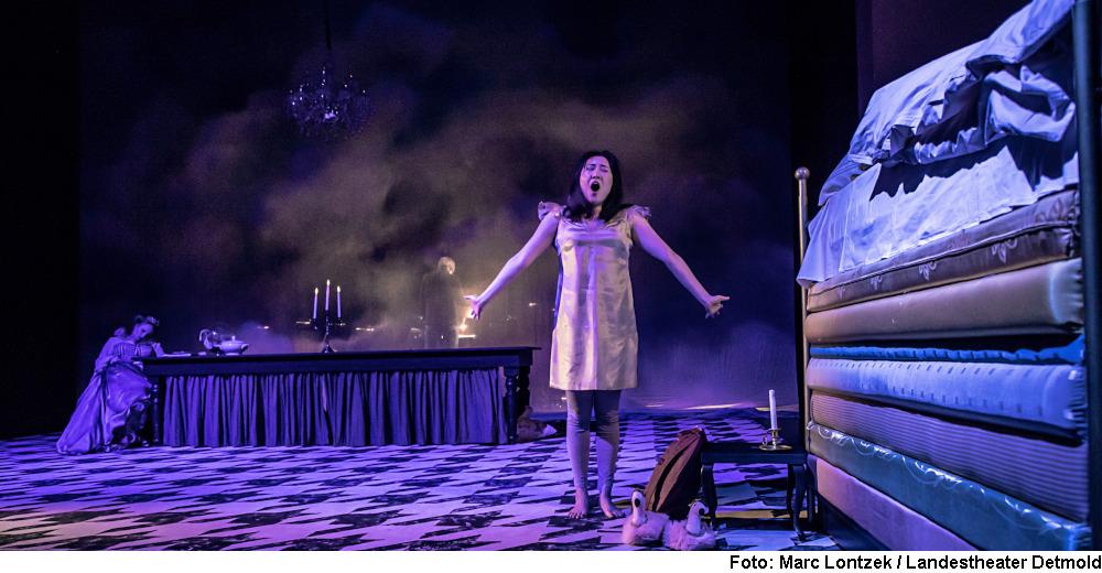 """""""Die Prinzessin auf der Erbse"""" (Foto: Marc Lontzek / Landestheater Detmold)"""