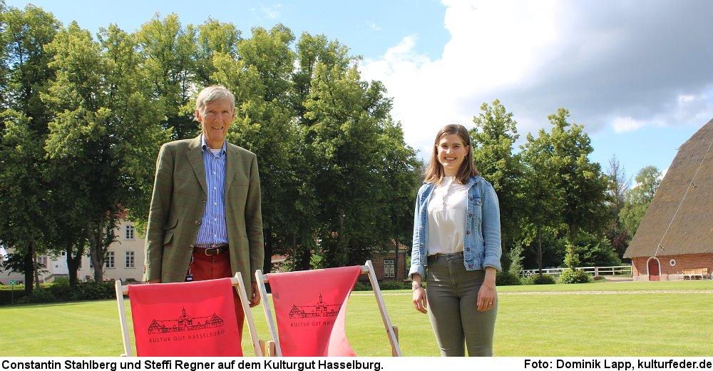 Steffi Regner und Constantin Stahlberg (Foto: Dominik Lapp)