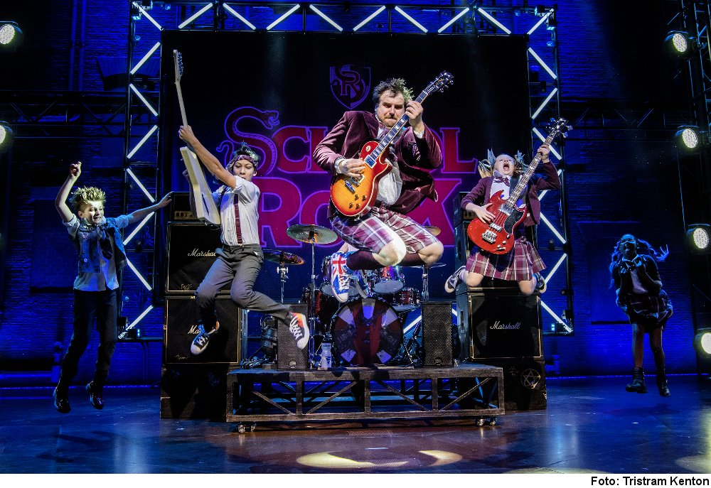 """School of Rock"" Foto: Tristram Kenton"