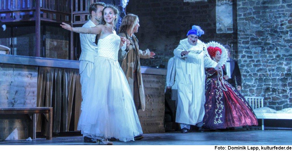 """""""Shakespeare in Love"""" (Foto: Dominik Lapp)"""