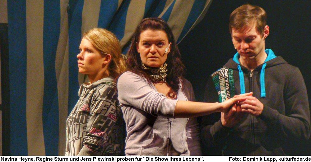 """""""Die Show ihres Lebens"""" in Hildesheim. (Foto: Dominik Lapp)"""