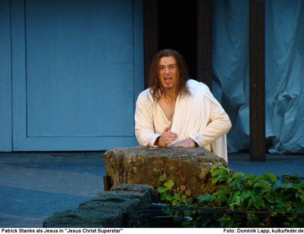"""Patrick Stanke als Jesus in """"Jesus Christ Superstar"""" (Foto: Dominik Lapp)"""