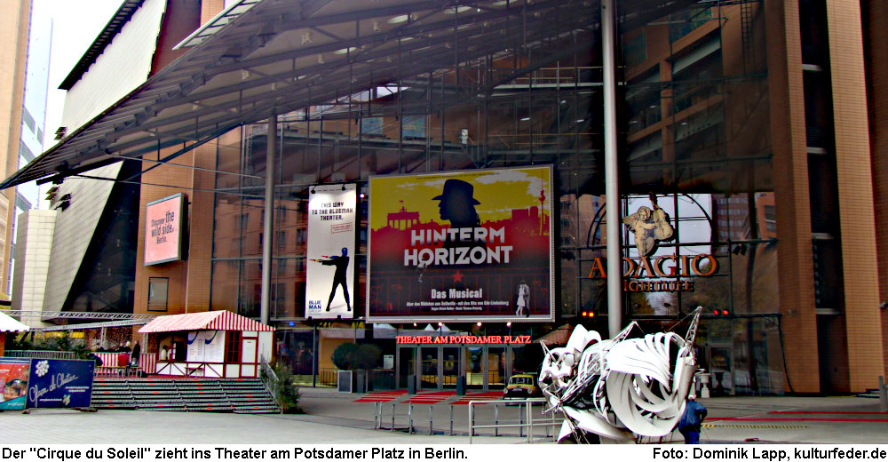 Theater am Potsdamer Platz Berlin (Foto: Dominik Lapp)