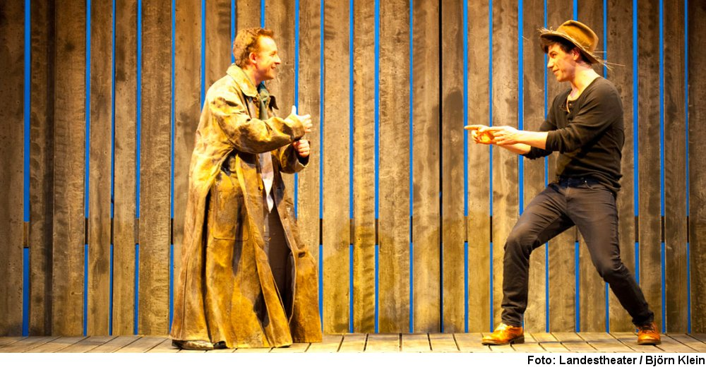 """Tom Sawyer und Huckleberry Finn"", Foto: Björn Klein"