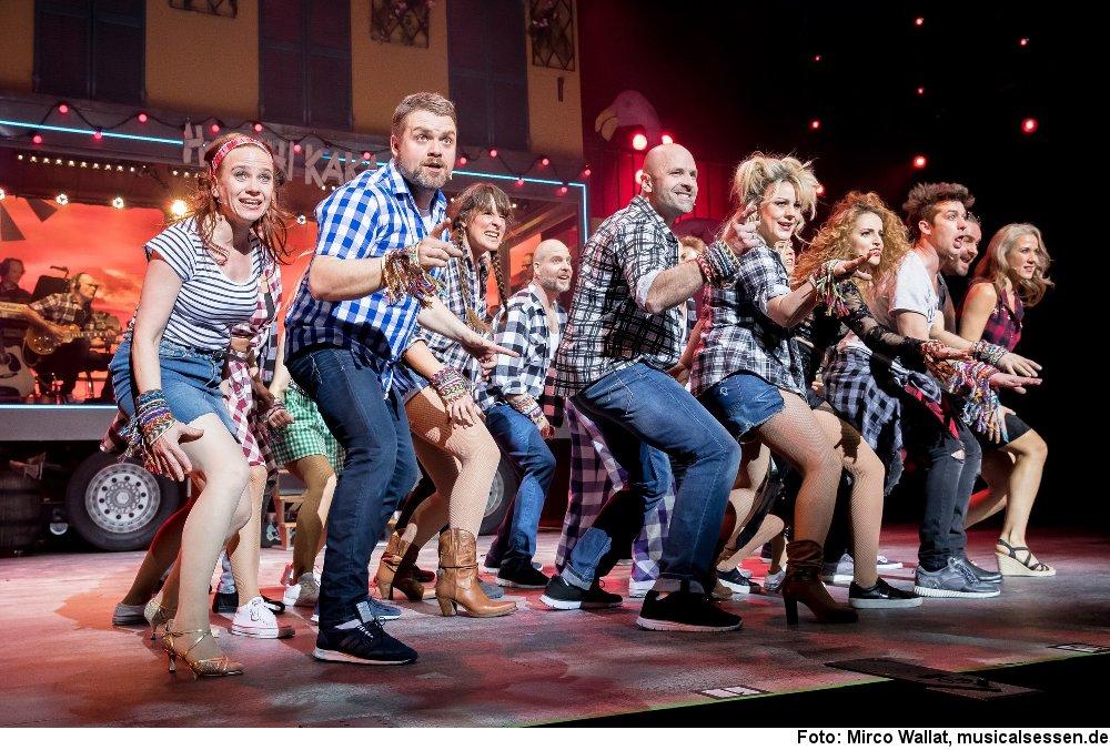 """""""Wahnsinn!"""", Foto: Mirco Wallat, musicalsessen.de"""